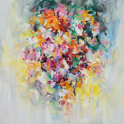 Yangyang Pan, 'Flowers on the Wall', 2020