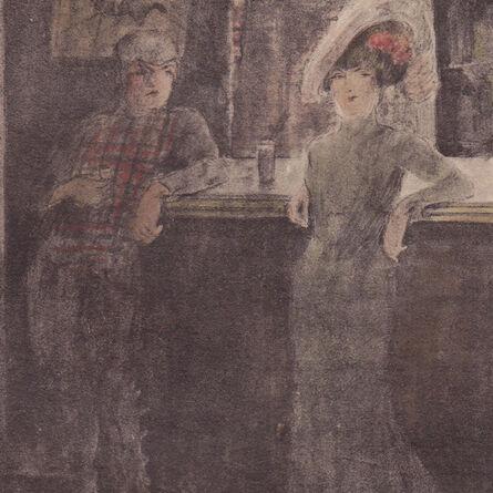 "George Bottini, '""Au Bar Anglais (Not in Southard)""', 1899"