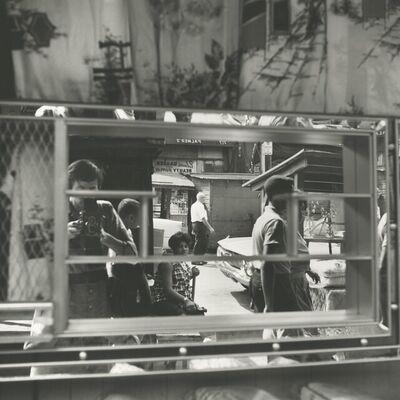 Vivian Maier, 'Self-portait, Halsted Street, Chicago August 25', 1961