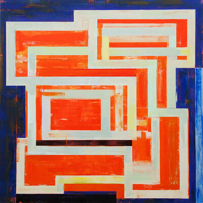 Lloyd Martin, 'Orange Circuit', 2018