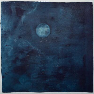 Miya Ando, '15 Shingetsu (New Moon) September 17 2020', 2020