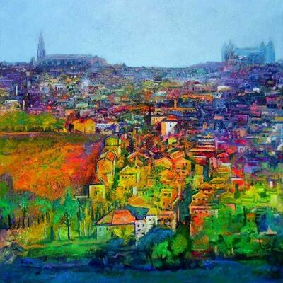 Ulpiano Carrasco, 'Toledo', 2019