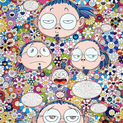 Takashi Murakami, 'Self-Portrait of the Manifold Worries of a Manifoldly Distressed Artist', 2017