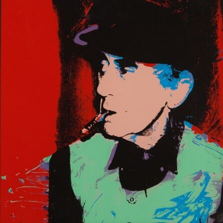 Andy Warhol, 'Man Ray', 1975