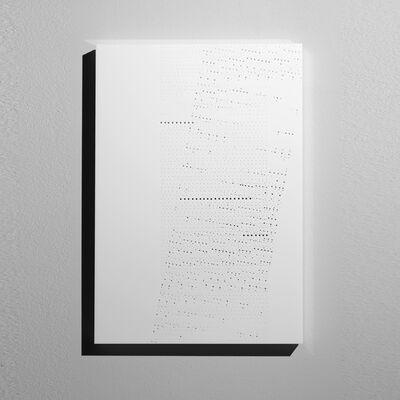 Riccardo De Marchi, 'Spazio bianco...tracce dell'anima', 2013