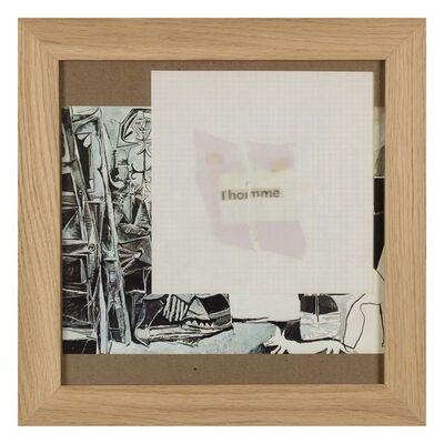 Gil J Wolman, 'Untitled (l'homme)', 1983