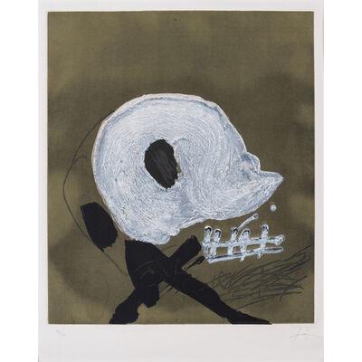 Antoni Tàpies, 'Blanc central', 1982