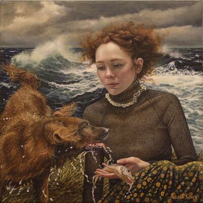 Andrea Kowch, 'Fetch (Limited Edition Hand Signed Print)', 2019