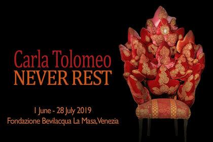 Carla Tolomeo. Never Rest