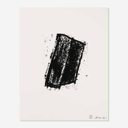 Richard Serra, 'Sketch 3 (from the Sketches series)', 1981