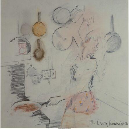 Larry Rivers, 'Kitchen', 1981-86