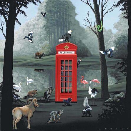 Robert Deyber, 'Call of the Wild (English Phone Booth)', 2009