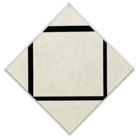 Piet Mondrian, 'Composition No. 1: Lozenge with Four Lines,', 1930