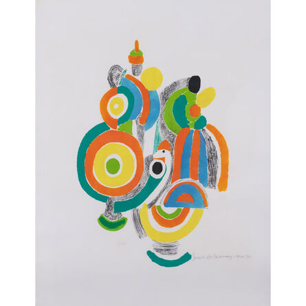Sonia Delaunay, 'Les jouets portugais', 1916-1970