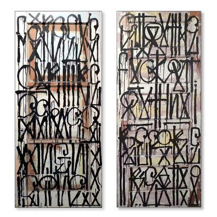 RETNA, 'Untitled (Doors)', 2011