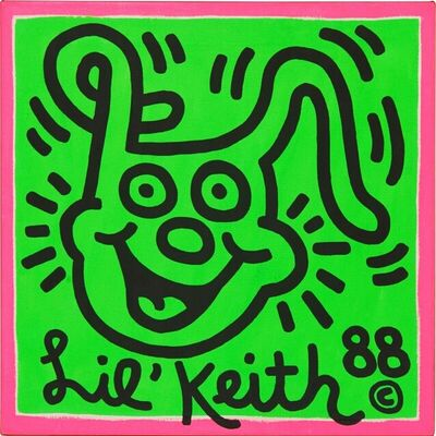 Keith Haring, 'Untitled (Lil Keith)', 1988