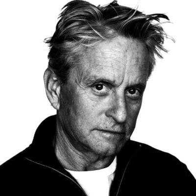 Howard Schatz, 'Michael Douglas - In Character', 2013