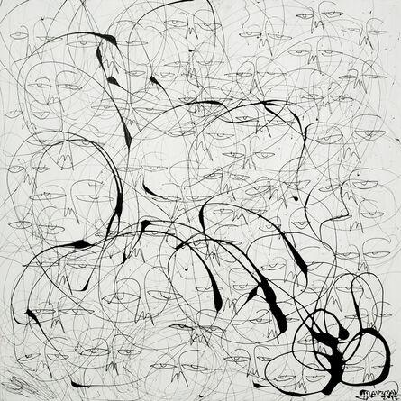 Harif Guzman, 'One of a Kind: Black on White', 2012