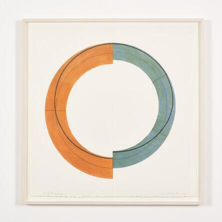 Robert Mangold (b.1937), 'Split Ring Image', 2009