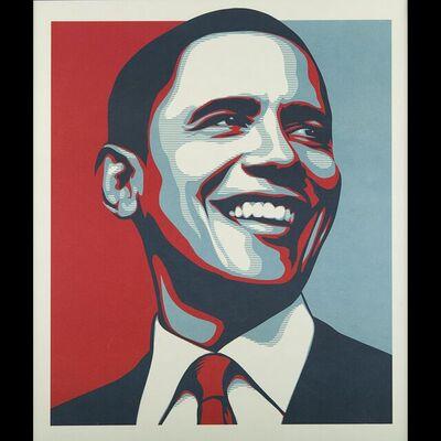 Shepard Fairey, 'Obama Vote', 2008