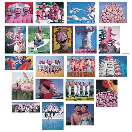 Yue Minjun, 'Snatched Ecstasy (Portfolio of 20)', 2009
