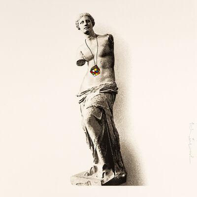 Mr. Brainwash, 'Venus - Rubik's Collection', 2021