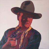 Andy Warhol, 'John Wayne (FS II.377) ', 1986