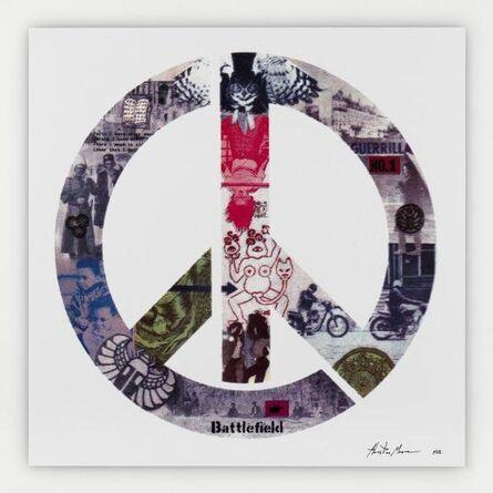 Ecstatic Peace Library / Thurston Moore & Eva Prinz, 'Mimeogasm (logo)', 2014