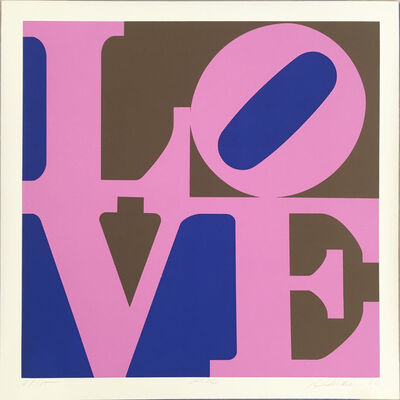Robert Indiana, 'Lilac (from A Garden of Love)', 1982