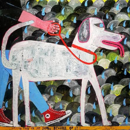 Joachim Lambrechts, 'Walking the Dog', 2020