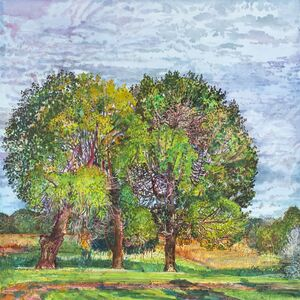 Nancy Friese, 'Three Trees', 2013