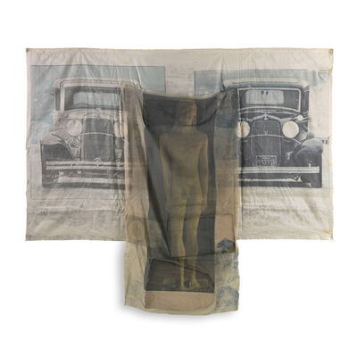 Robert Rauschenberg, 'Preview, from Hoarfrost Editions, (Gemini G.E.L 572)', 1974