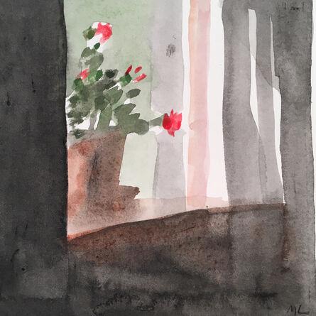 Mary Lawler, 'Geranium In Window', 2017