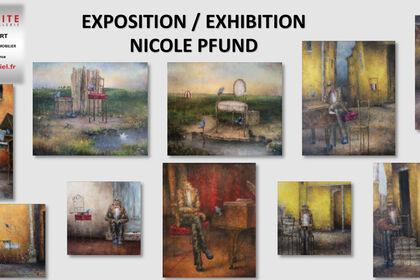 Nicole Pfund Painting exhibition
