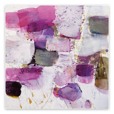 Greet Helsen, 'Lilac and Elder (Abstract Expressionism painting)', 2020