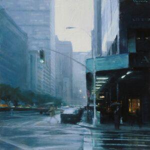 Ben Aronson, 'Rain, Park Avenue', 2018