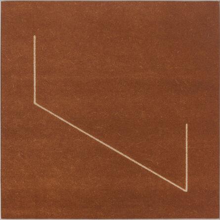 Fred Sandback, 'Untitled', 1977