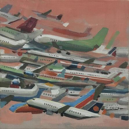 RU8ICON1, 'Paper Planes II', 2017
