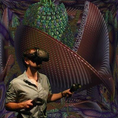 William Latham, 'Mutator VR'