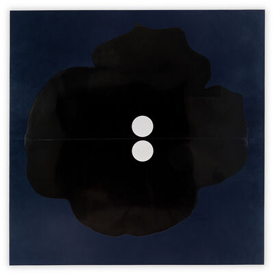 Donald Sultan, 'Button Down Blue June 18, 2015', 2015