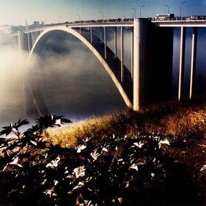 """Alfredo Srur, 'Puente """"La Amistad"""", Ciudad del Este, Paraguay', 2008"""