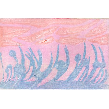 Megumi Mizutani, 'with the wind', 2002