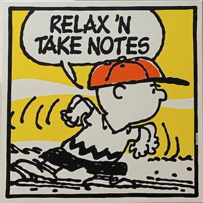 Mark Drew, 'Relax N' Take Notes (Biggie)', 2019
