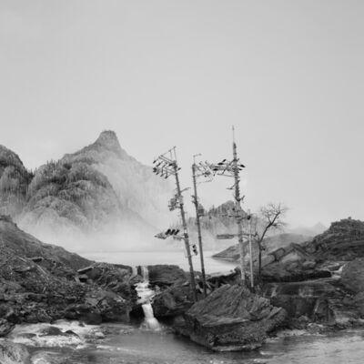 Yang Yongliang 杨泳梁, '太古蜃市 - 断流 Time Immemorial - The Slope', 2016