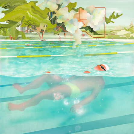 Yang-Tsung Fan, 'Swimming Pool Series — Floating', 2014