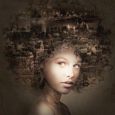 Yvonne Michiels, 'Amsterdam by Night', 2020