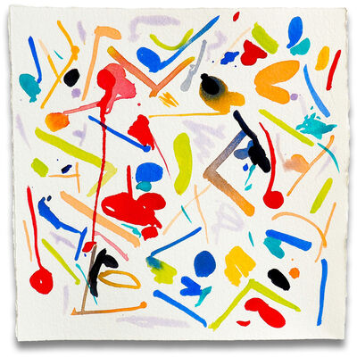 Jessica Snow, 'Fling 1 (Abstract painting)', 2015