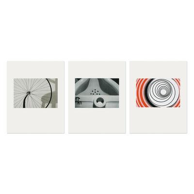 Sturtevant, 'Duchamp Triptych', 1998