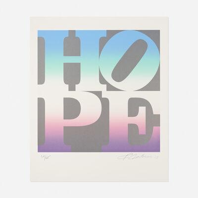 Robert Indiana, 'Spring from the 4 Seasons of Hope portfolio', 2012