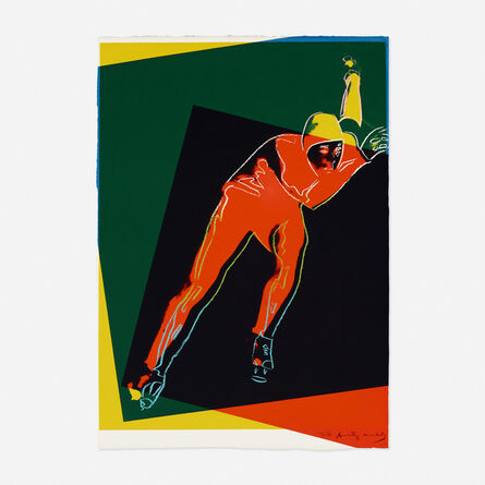 Andy Warhol, 'Speed Skater Trial Proof (from the Art and Sports portfolio)', 1983